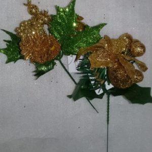 Pick flores doradas