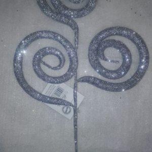 Espiral plateado