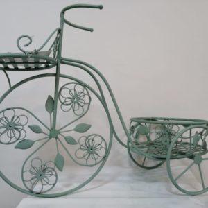 Pote triciclo verde pastel