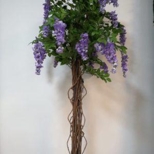 Planta flores moradas