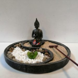 Jardín zen de mesa