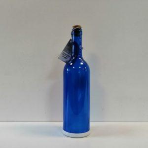Botellas de vidrio con luz