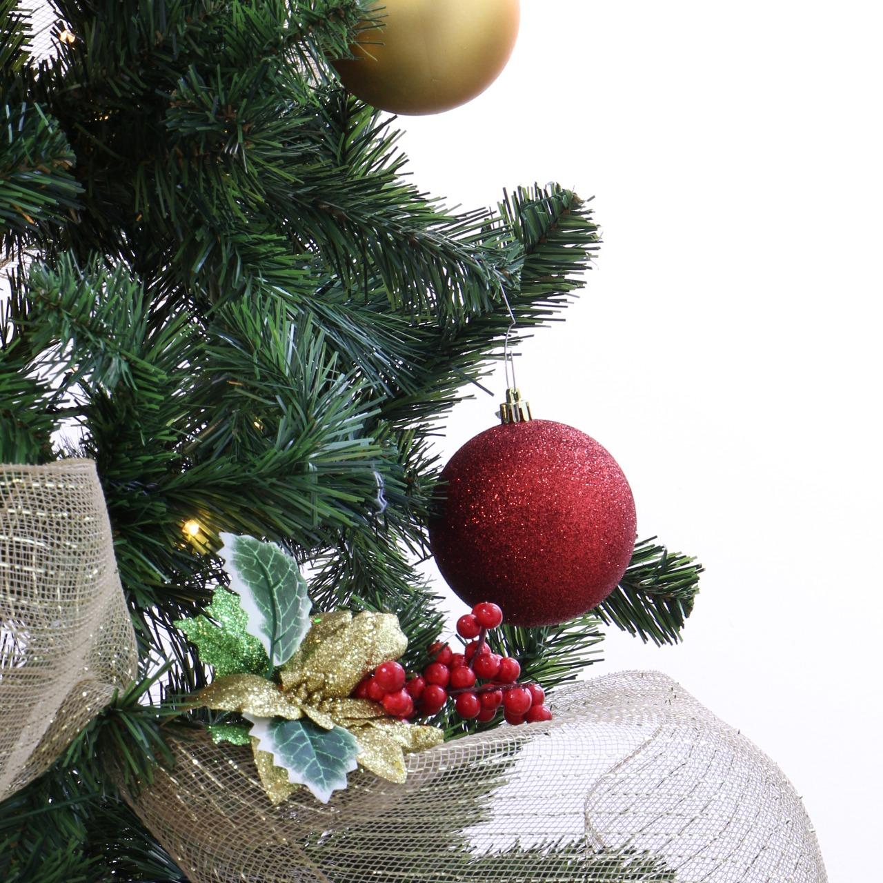 Combo árbol de navidad clásico de Arbocol 210cm