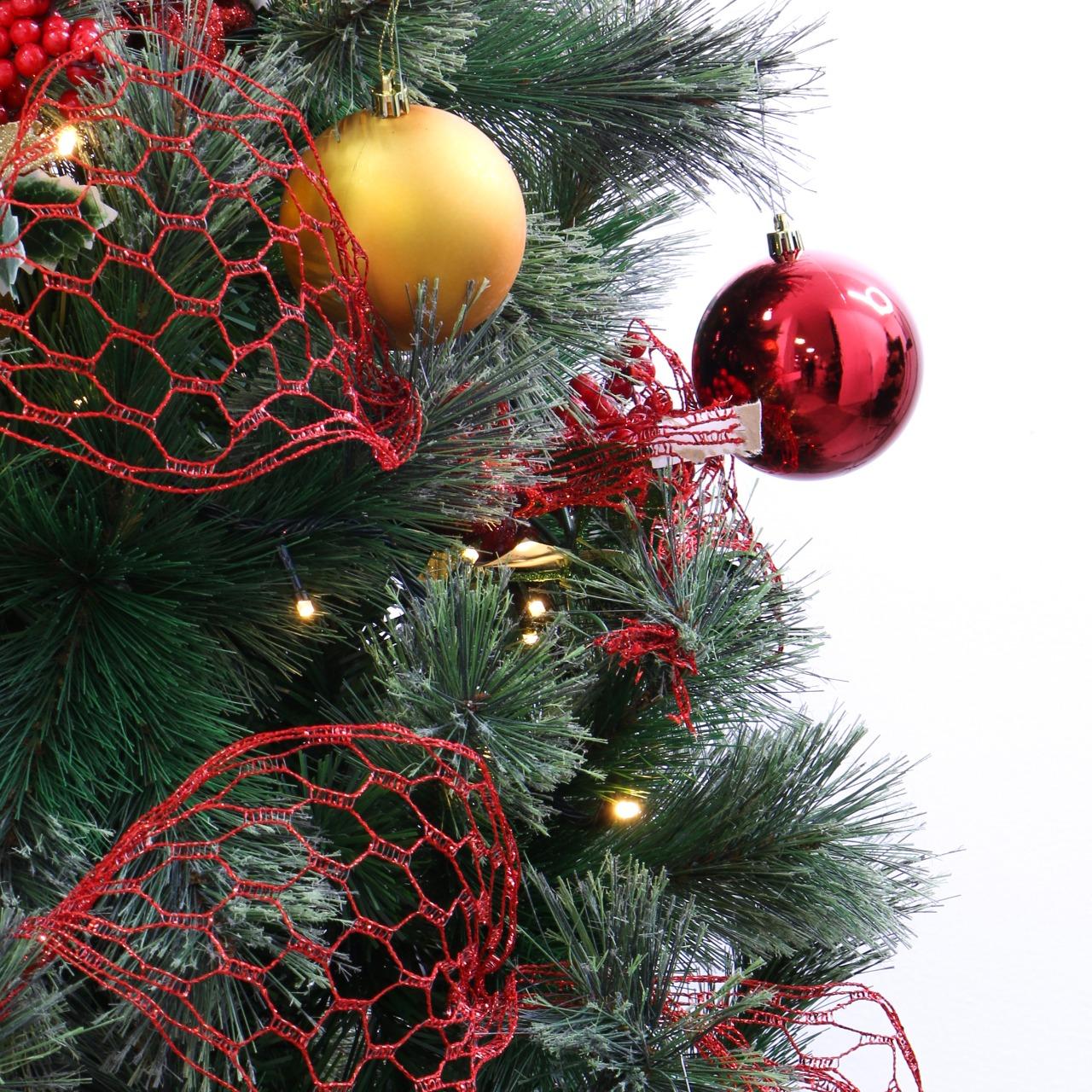 Combo árbol de navidad punta verde de Arbocol 210cm